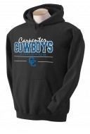 Carpenter MS Boys Athletics Hoodie (Black)