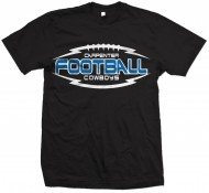Carpenter MS Boys Football A4 Performance T-Shirt (Black)